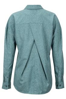 Women's Becka Long-Sleeve Pullover, Deep Teal, medium