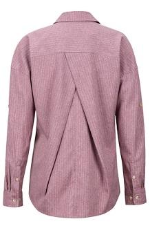 Women's Becka Long-Sleeve Pullover, Dry Rose, medium