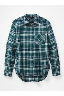 Women's Maggie Lightweight Flannel Long-Sleeve Shirt, Botanical Garden, medium