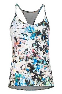 Women's Solstice Tank Top, Multi Crystals, medium