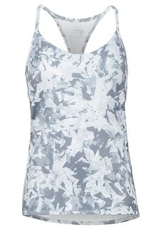Women's Solstice Tank Top, Grey Crystals, medium