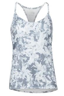 Women's Solstice Tank Top, Grey Crystals, medium