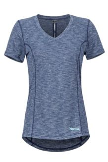 Women's Aster SS Shirt, Arctic Navy, medium