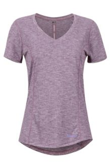 Women's Aster SS Shirt, Vintage Violet, medium