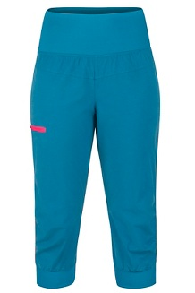 Women's Dihedral Capri, Late Night/Double Mint, medium