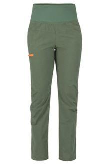 Women's Dihedral Pants, Crocodile/Bonfire, medium