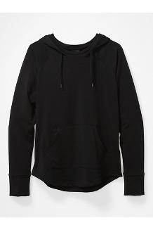 Women's La Linea Pullover, Black, medium