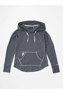 Women's La Linea Pullover, Steel Onyx, medium