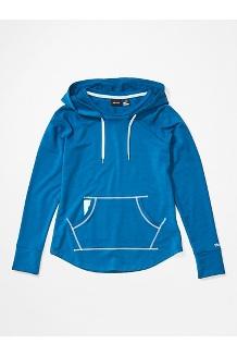 Women's La Linea Pullover, Classic Blue, medium