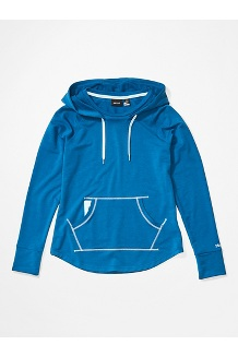 Women's La Linea Pullover, Classic Blue, medium
