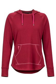 Women's La Linea Pullover, Claret, medium