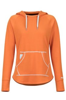 Women's La Linea Pullover, Bonfire, medium