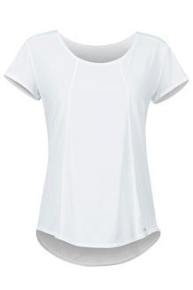 Women's Tula SS Shirt, White, medium
