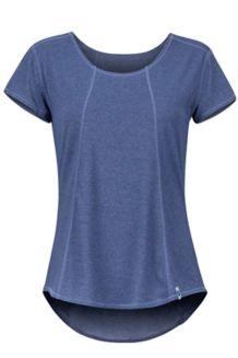 Women's Tula SS Shirt, Arctic Navy, medium