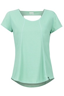 Women's Tula SS Shirt, Pond Green, medium