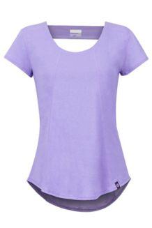 Women's Tula SS Shirt, Paisley Purple, medium