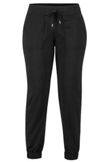 Women's Avision Jogger Pants, Black, medium