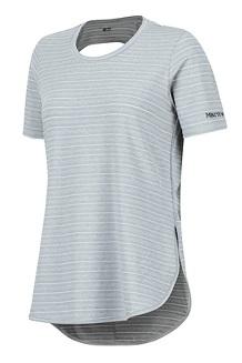 Women's Ellie SS Shirt, Steel Onyx, medium