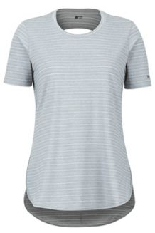 Women's Ellie SS Shirt, Steel Onyx, medium