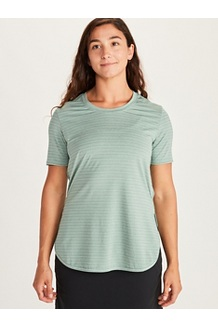 Women's Ellie SS Shirt, Deep Jungle, medium