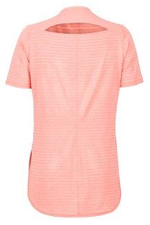 Women's Ellie SS Shirt, Flamingo, medium