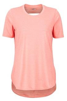 Women's Ellie SS Shirt, Flamingo, medium