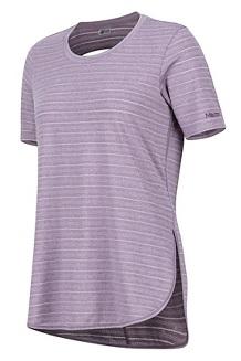 Women's Ellie SS Shirt, Vintage Violet, medium