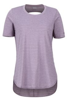 Women's Ellie SS Shirt, Vintage Violet, medium