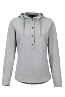 Women's Lorey Hoody, Grey Storm, medium
