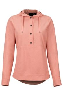 Women's Lorey Hoody, Coral Pink, medium