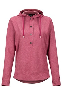 Women's Lorey Hoody, Dry Rose, medium