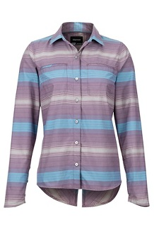 Women's Aeolian LS Shirt, Vintage Violet, medium