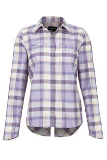 Women's Aeolian LS Shirt, Paisley Purple, medium
