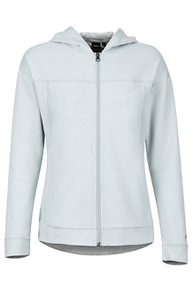 Women's Sun Point Hoody, Bright Steel, medium