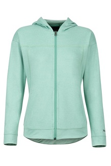 Women's Sun Point Hoody, Pond Green, medium