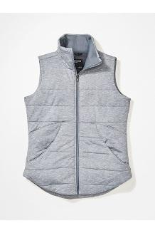 Women's Visita Insulated Vest, Steel Onyx Heather, medium