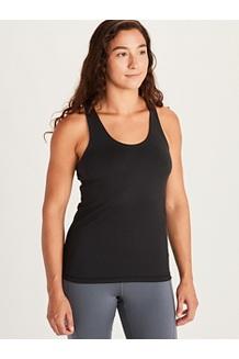 Women's Leda Tank Top, Black, medium
