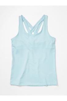 Women's Leda Tank Top, Corydalis Blue, medium