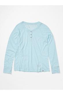 Women's Mt. Shasta Long-Sleeve Shirt, Corydalis Blue Heather, medium