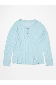 Women's Mt. Shasta Long-Sleeve Shirt, Corydalis Blue Heather, medium