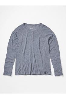 Women's Mt. Shasta Long-Sleeve Shirt, Steel Onyx Heather, medium
