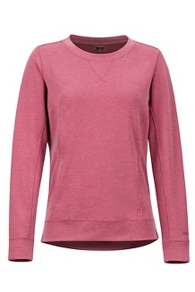 Women's Laurel Long-Sleeve Shirt, Dry Rose Heather, medium