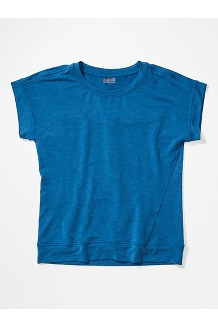 Women's Morgan Short-Sleeve T-Shirt, Classic Blue Heather, medium