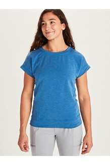 Women's Morgan Short-Sleeve T-Shirt, Classic Blue Heather, medium