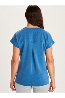 Women's Morgan Short-Sleeve T-Shirt, Hazy Afternoon Heather, medium