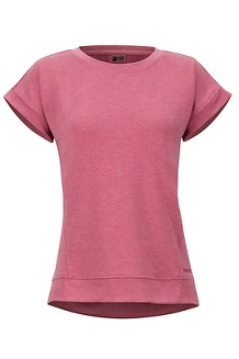 Women's Morgan Short-Sleeve T-Shirt, Dry Rose Heather, medium