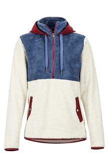 Women's Homestead Pullover Fleece, Turtledove/Storm, medium