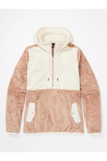 Women's Homestead Pullover Fleece, Sea Salt/Papyrus, medium
