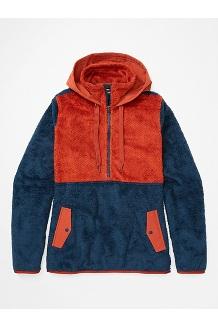 Women's Homestead Pullover Fleece, Dark Indigo/Picante, medium