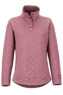 Women's Roice Long-Sleeve Pullover, Dry Rose Heather, medium